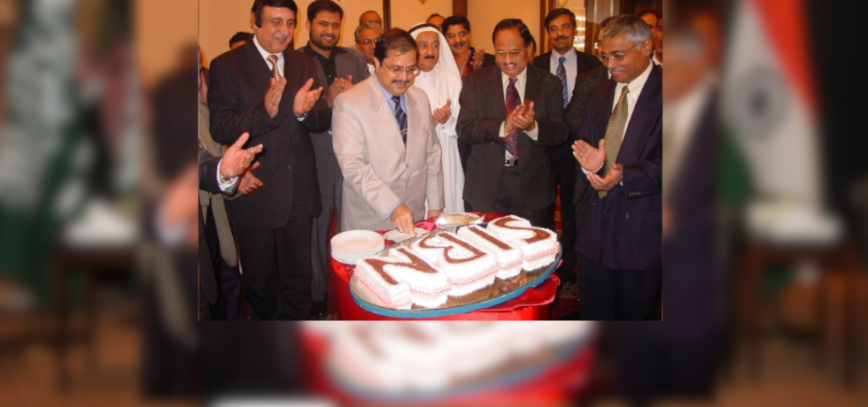 Consul General of India H.E. Dr. Ausaf Sayeed at the inauguration of SIBN-Jeddah in 2005